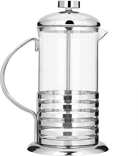 Coffee Fox French Press Kaffeemaschine aus Glas, 350 ml, spülmaschinenfest.