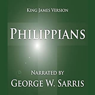 The Holy Bible - KJV: Philippians cover art