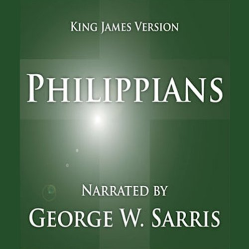 The Holy Bible - KJV: Philippians audiobook cover art