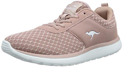 KangaROOS Bumpy Sneakers Damen, Pink(Rose 640), 39 EU