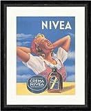 Kunstdruck Nivea Creme Werbung aus Rumänien Mädchen
