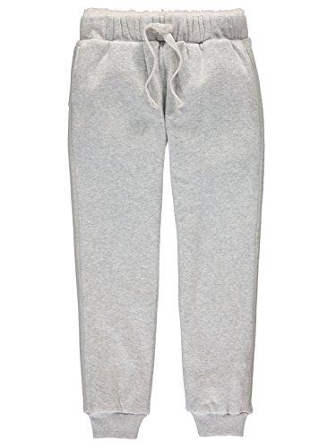 Bench Mädchen Sweat Pant Jogginganzug, Grau (Warm Grey Marl Ma1067), 152 (Herstellergröße: 11-12)