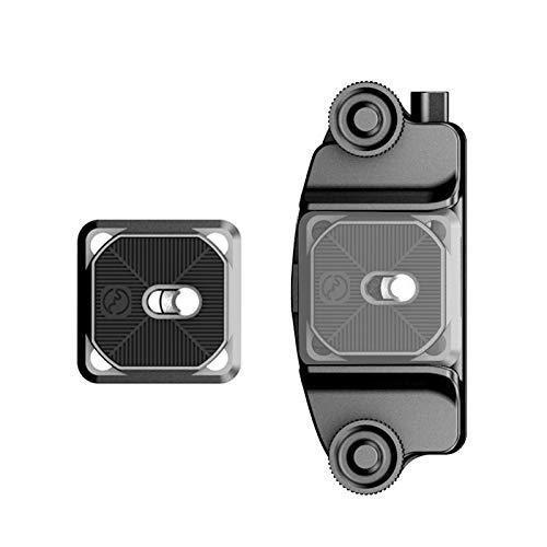 SWFOTO CQC-02 7cm一眼レフカメラ クイックリリースクランプ ショルダープレート用クリップ ウエストクリップ ベルトクリップ