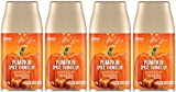 Glade Automatic Spray Refill - Pumpkin Spice Things Up - Holiday Collection 2020 - Net Wt. 6.2 OZ (175 g) Per Refill Can - Pack of 4 Refill Cans