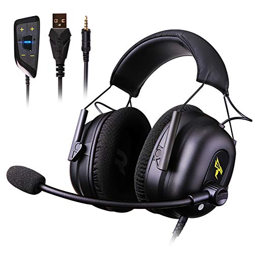 Casque de Jeu Audio et vidéo Voix E-Sports Ordinateur Casque Casque à réduction de Bruit