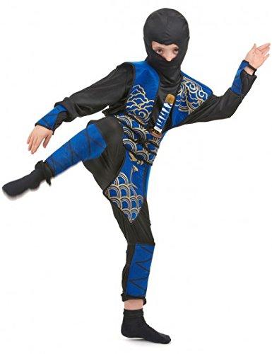 Parafete Ninja Ragazzo Costume Blu