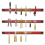 GOPLUS Magnetleiste, Magnet Werkzeughalter Rot, Werkzeug Halterung, Werkzeugleiste, Magnetischer...