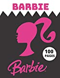 Barbie: Coloring Book for Kids and Adults with Fun, Easy, and Relaxing