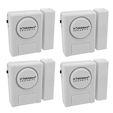 Window/Door Alarm Kit - 4 Pack