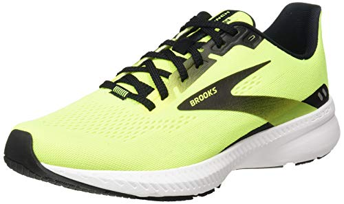 Brooks Launch 8, Zapatillas para Correr Hombre, Nightlife Black White, 41 EU