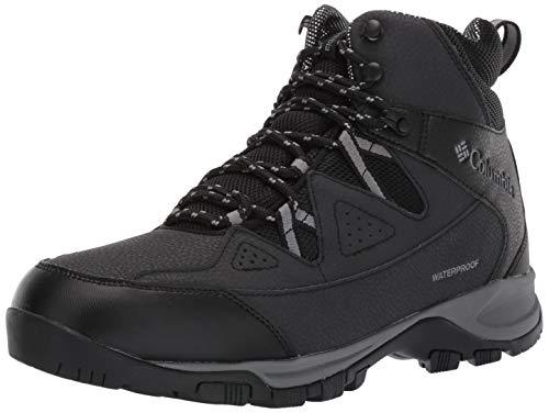 Columbia Men's LIFTOP III Snow Boot, Black, ti Grey Steel, 12 Regular US