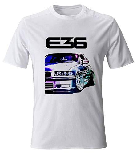 E36 M3 Herren Laser Design T-Shirt (M)
