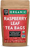Organic Red Raspberry Leaf Tea Bags | 20 Tea Bags | Eco-Conscious Tea Bags in Kraft Bag | Raw from Germany | by FGO