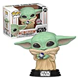 Funko Pop! 48905 Star Wars Mandalorian The Child with Control Knob Exclusive Special Edition #370