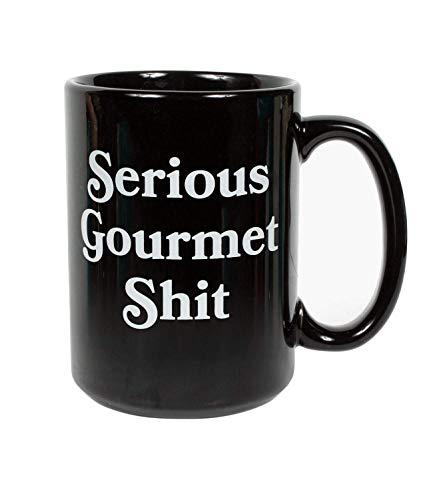Headline Shirts Serious Gourmet Shit Coffee Mug