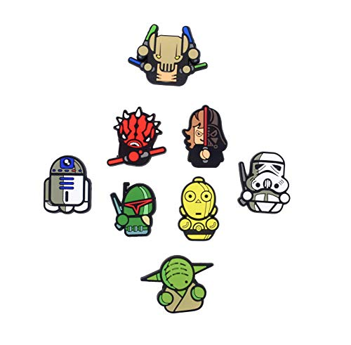 BeAwesome Exclusive Cute Refrigerator Magnets Star Wars Fridge Magnets