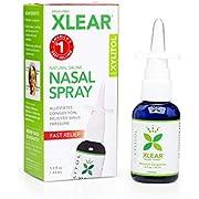 Xlear Sinus Care Saline Nasal Spray with Xylitol, 45ml (1.5oz)