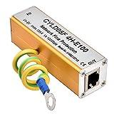 Protector Contra Sobretensiones, Adaptador Protector Contra Sobretensiones de Red Ethernet, Protección Contra Descargas Eléctricas Thunder Lighting Adecuado Para Protección Contra Sobretens