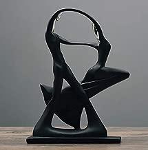 RISEDS Creative Face Statues Figurine Sculptures Abstract Desk Decorations Dancer Halloween