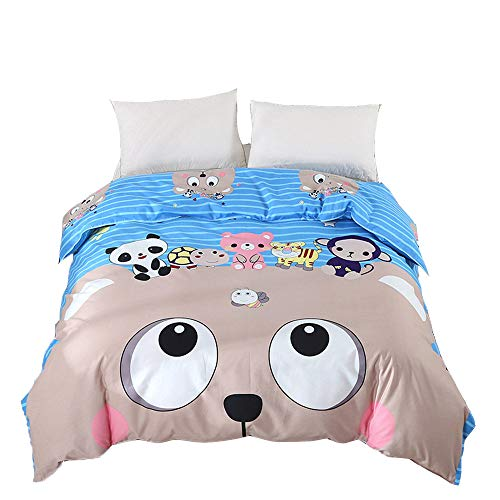 LULU Cartoon Bed Linings Increasing The Thickness Twill Duvet Cover 200 * 230Cm Keep Warm Bedding 1.8M Bed,C,200 * 230CM
