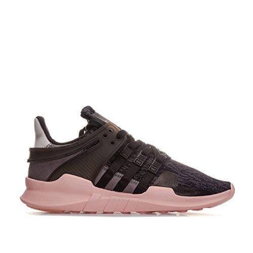 adidas Originals sportliche Schuhe Damen Sneaker Equipment Support ADV Turnschuhe Schwarz, Größenauswahl:37 1/3