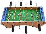 MU Mesa de Fútbol de Mesa de Fútbol de Mesa, Máquina de Fútbol de Futbolín, Juguetes de Escritorio para Niños Durante 3-6 Años de Antigüedad Tablas de Billar,Defecto