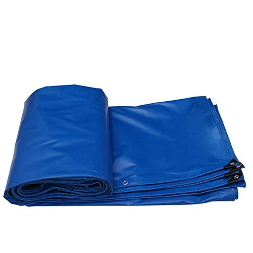 Impermeable Acolchado Al Aire Libre - Sombrilla Y Tela A Prueba De Lluvias (Color : Blue, Size : 4MX3M)