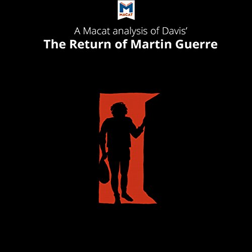A Macat Analysis of Natalie Zemon Davis's The Return of Martin Guerre audiobook cover art