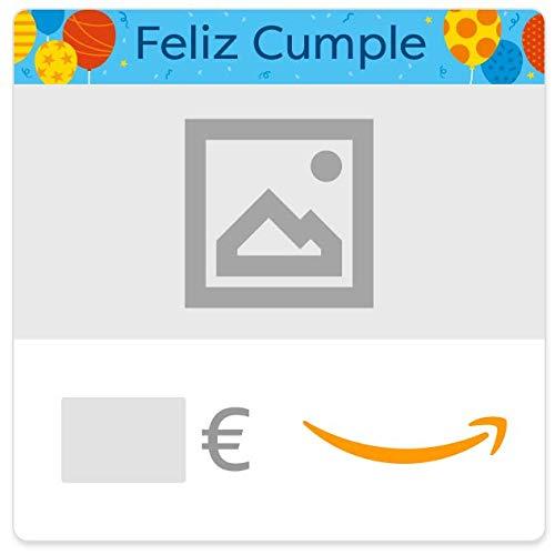 Cheques Regalo de Amazon.es - E-mail - Personalizado - Cumpleaños (globos)