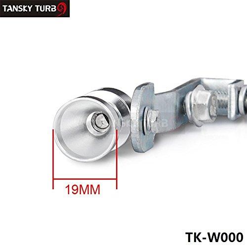 tansky–Universal coche Turbo sonido silbato Silenciador Tubo De Escape Blow Off Vale BOV Simulador Whistler tamaño S tk-w000(1pc)