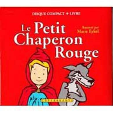 Le petit chaperon rouge (cd audio+livre)