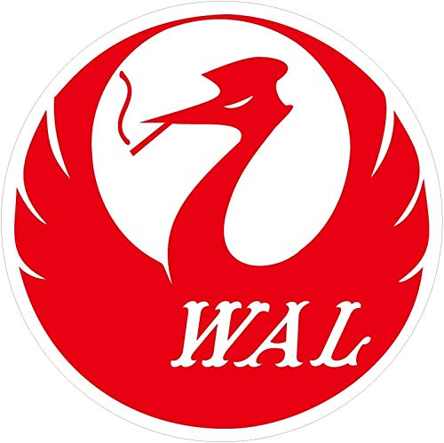 トップロード仙台 ステッカー WAL 赤 100φ