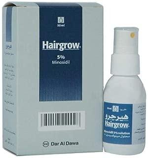 Hairgrow 5% minoxidil 50ml