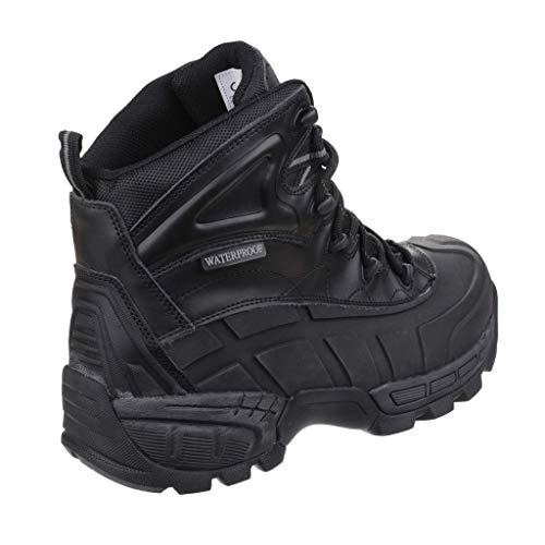 Amblers FS430 Orca S3 Waterproof Safety Work Boots Black 6-12 Lightweight (UK 10)