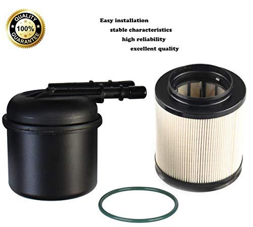 FD-4615 Fuel Filters Diesel Fuel Filter Kit Fits Ford 2011-2016 6.7L F250 F350 Powerstroke ,OEM BC3Z-9N184-B Diesel Filter FD4615.
