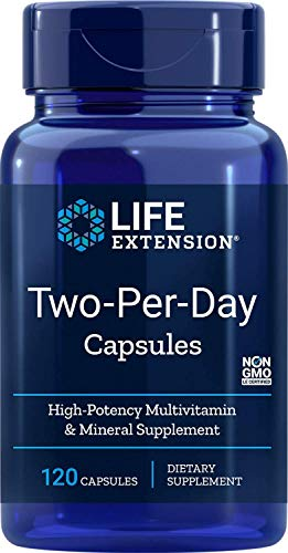 Life Extension, Two-Per-Day, 120 Kapseln