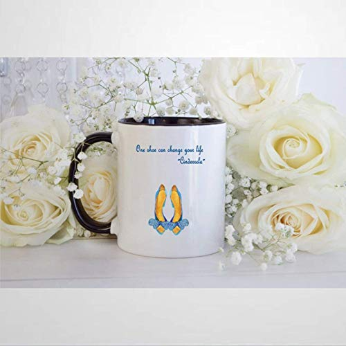 One Shoe Can Change Your Life Coffee Mug,Ceramic Mug Cup for Office and...
