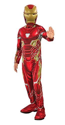 Avengers - Disfraz oficial de Iron Man para nios, Infinity War, talla 3-4 aos (Rubies 641051-S)