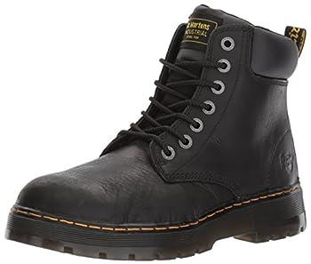 Dr Martens Men s Winch Steel Toe Light Industry Boots Black 12 M US