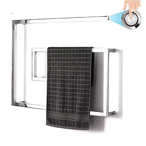 AMYZ Toallero con calefacción de Acero Inoxidable,Calentador de Toallas eléctrico montado en...