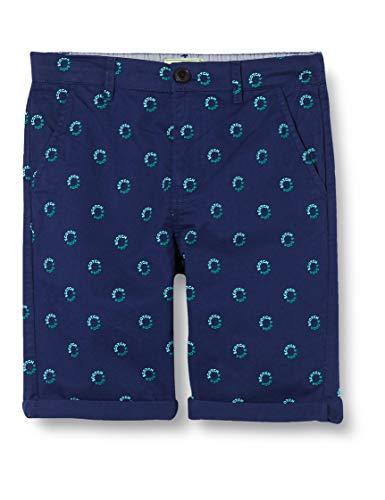 Scotch & Soda Shrunk Jungen Bermudas mit Logo-Print Shorts, Mehrfarbig (Combo B 0218), 140 (Herstellergröße:10)