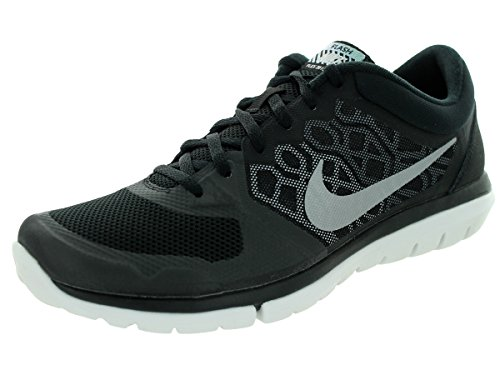 Nike 807176-015, Zapatillas de Trail Running Hombre, Negro (Black/Metallic Silver-Wolf Grey), 42.5 EU