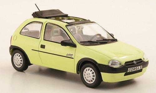 Opel Corsa B Swing, amarillo claro (ohne revista) , 1993, Modelo de Auto, modello completo, SpecialC.-40 1:43