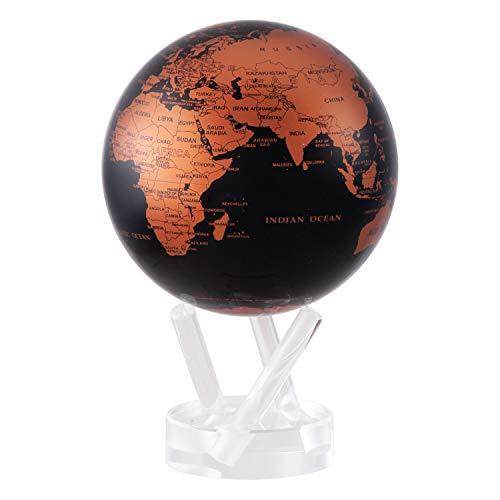 """4.5"""" Copper and Black Earth MOVA Globe"""