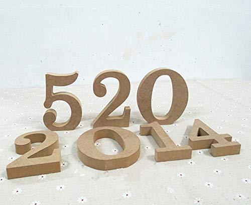 Decorative Letters & Numbers La decoración del hogar accesorios de bricolaje de...