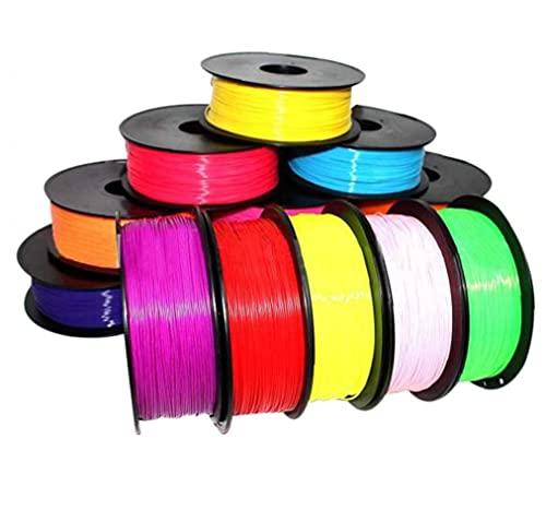 1pc 1.75mm Stampa Filament ABS Modeling Stereoscopico per Disegno 3D Printer Pen Colore Casuale