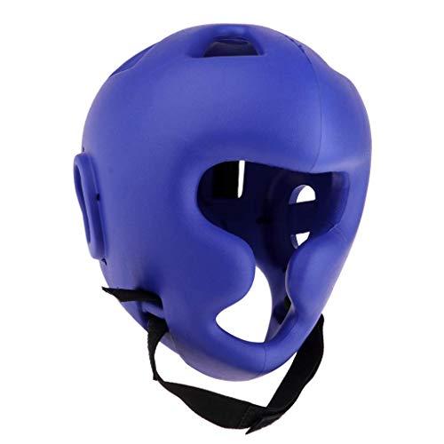 Backbayia Schutzhelm, für das Gesicht, für Taekwondo, blau