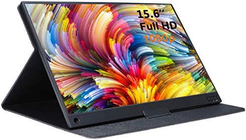 AILRINNI 15,6 Pouces Moniteur Portable - HDMI 1920 x 1080P IPS Full HD Écran avec USB-C,...