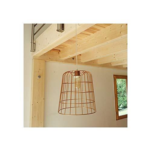 Suspension loft Panier cuivré diamètre 30