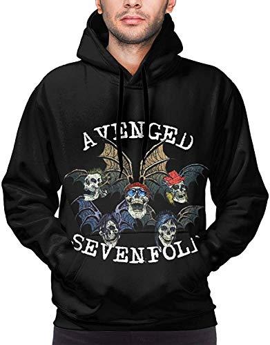 Avenged Sevenfold Logo Pullover Sudadera 3D Impreso Deportes Hombre Sudaderas Sudaderas